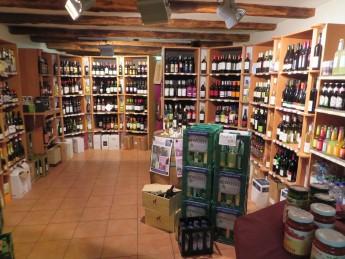 Bioladen Stirper Mühle Wein und Getränke