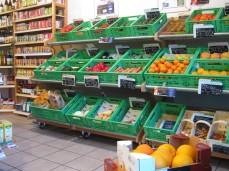 Bioladen Stirper Mühle Obst und Gemüse
